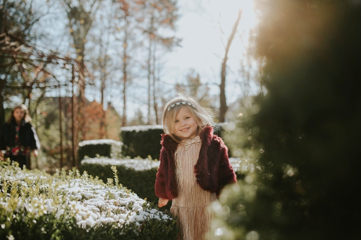 Winter Magic at home Orland Park, IL | Adri De La Cruz chicago family photographer