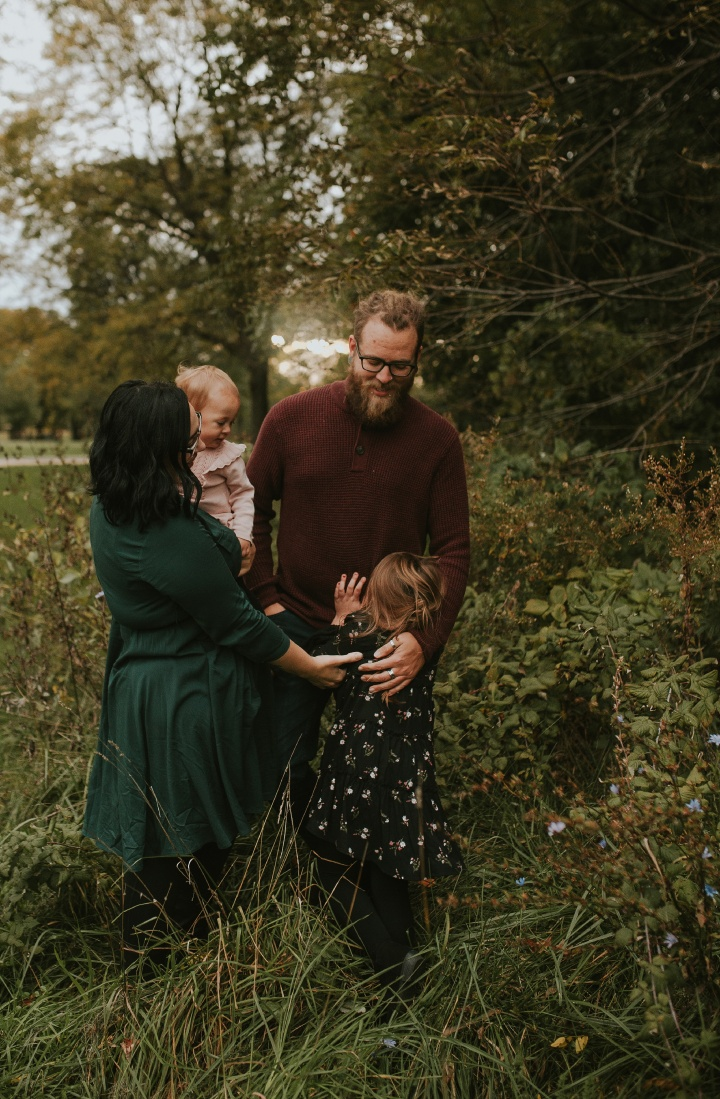 Elk Grove Village IL  family fall session -The Radfords